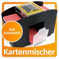 Elektrischer Kartenmischer Automatische Poker Kartenmischmaschine Für 4 Decks