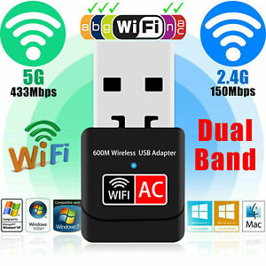 600Mbps-Dual-Band-2-4G-5G-Hz-Wireless-Lan-USB-2-0-PC-WiFi-Adapter-802-11AC-w7