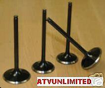 SUZUKI LTR450 KIBBLEWHITE OVERSIZED INTAKE VALVE 37MM LTR 450 06-14 60-60311