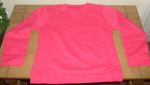 STRAWBERRY PINK  GIRLS TOP LONG SLEEVE CREW NECK TOP 4-5 6-7 7-8 8-9 YEARS