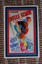 The Bandit Queen Lobby Card Movie Poster Western Belle Starr Randolph Scott