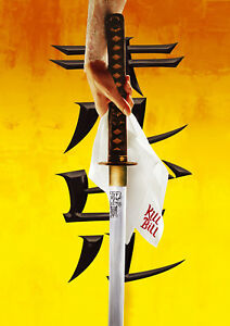 Reproduction-034-Kill-Bill-Sword-034-Movie-Poster-Home-Wall-Art-Tarantino