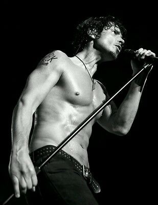 Chris Cornell Soundgarden Lead Singer 1964 2017 R I P B W Silk Poster 21 14