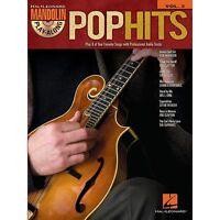Pop Hits Mandolin Play Along 8 Songs Tab Book Cd