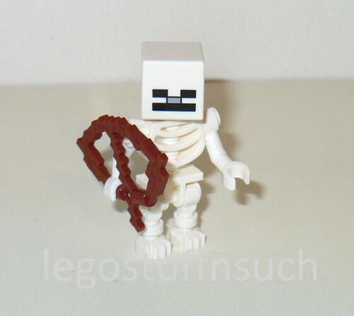 NEW LEGO® MINECRAFT Skeleton Archer minifigure figure undead desert 21114 21121