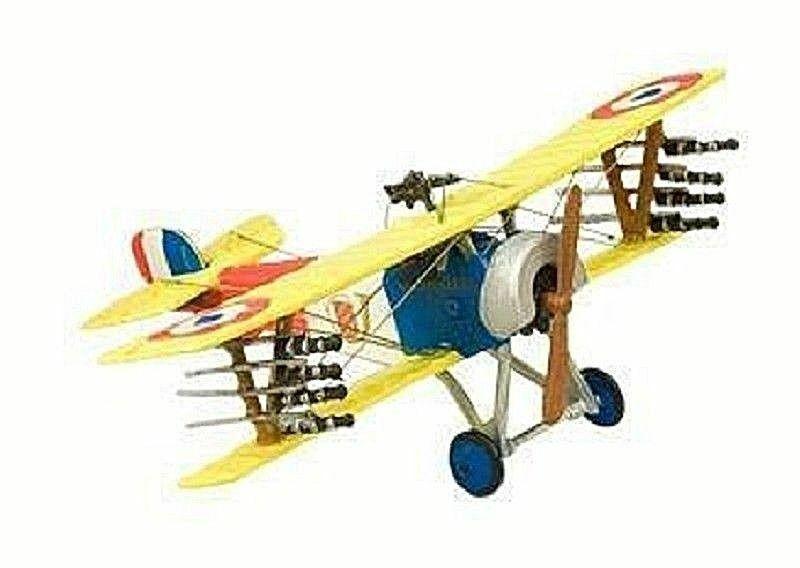 Biplano Nieuport 11-16 Francia 1914 1 72 AVION biplan Altaya Diecast