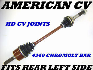 2010-11 CAN-AM OUTLANDER 800R 4X4 REAR RIGHT EXTREME OFF ROAD ATV CV JOINT AXLE