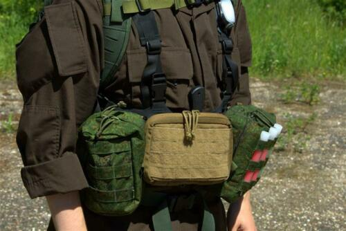 Original Military Universal Utility Pouch 3x3 Cells PALS//MOLLE All Color Russia