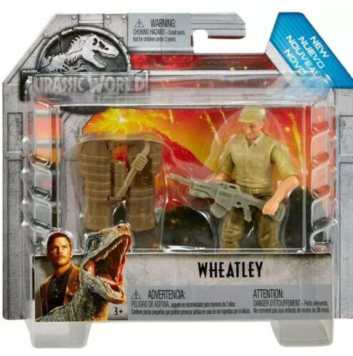 Mattel officiel sous licence Jurassic World figurine Wheatley