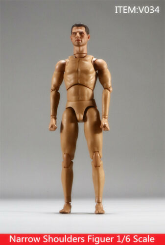 Head In-Stock 1//6 Scale Very Hot toys  V034 Tom Cruise Body