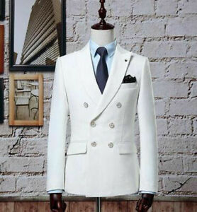 Vintage-White-Double-Breasted-Men-Suits-Slim-Fit-Classic-Wedding-Groom-Blazer