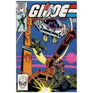 G-I-Joe-A-Real-American-Hero-1982-series-8-in-VF-cond-Marvel-comics-um