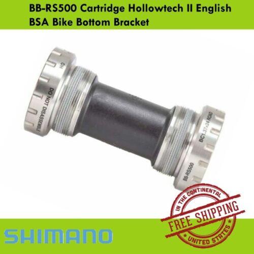 Shimano BB-RS500 Cartridge Hollowtech II English BSA Bike Bottom Bracket