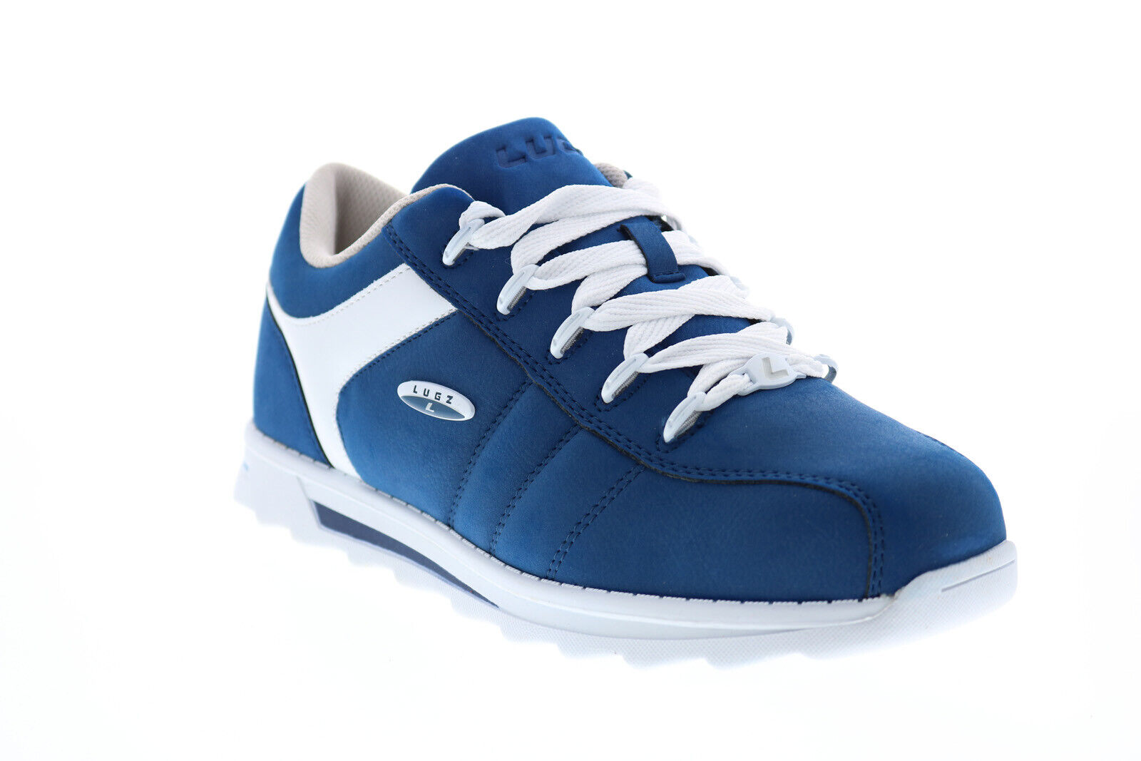 Lugz Blitz MBLITD-429 Mens Blue Synthetic Lace Up Lifestyle Sneakers Shoes