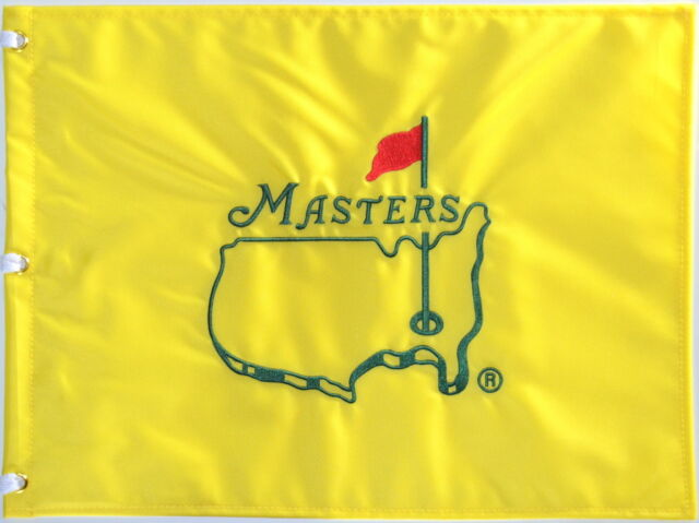 Undated MASTERS Official EMBROIDERED Golf Pin FLAG Sealed
