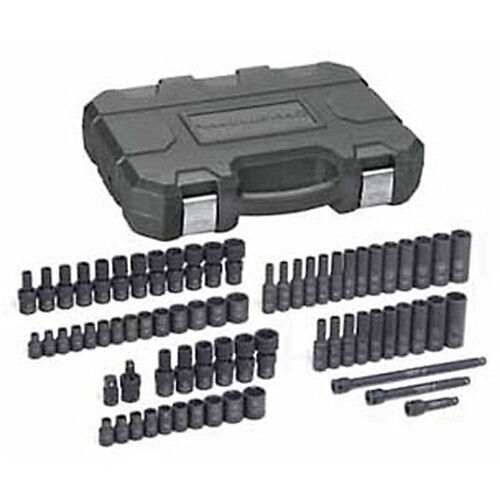 """GearWrench 1//4/"""" Drive SAE//Metric 6 Point Socket Set GearWrench 71 pc 84903"""
