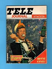 ►TELE JOURNAL N°475 -1983 - COLLARO - BONNE ANNEE - SYLVIE VARTAN