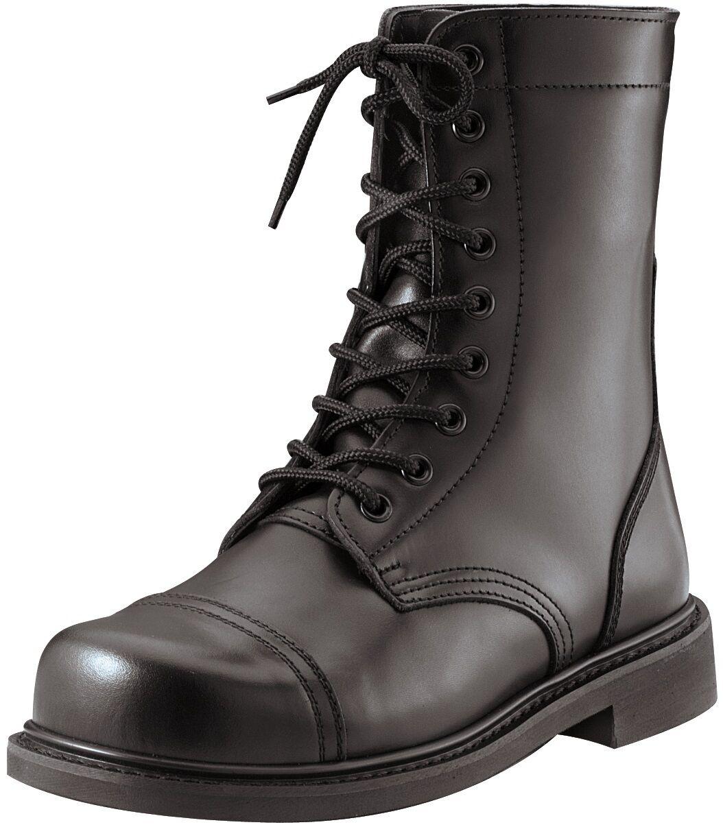 Mens Steel Toe GI Style Style Style nero Combat stivali   avvio Dimensiones 5-13 e3c21d