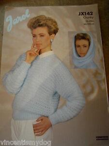 Jarol * Massif * Pull Avec Capuche Amovible Knitting Pattern * Jx142-afficher Le Titre D'origine Marchandises De Proximité