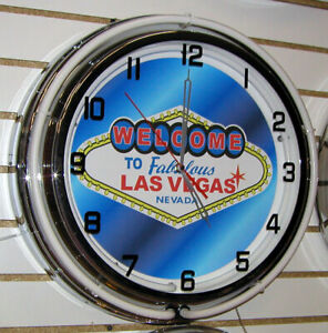 Welcome-To-Las-Vegas-Sign-Large-2-Ring-Neon-Clock