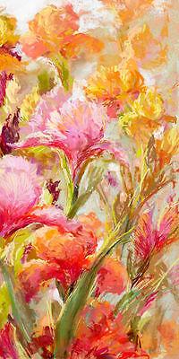 Nel Whatmore A Healthy Obsession III Keilrahmen-Bild Leinwand Blumen bunt modern