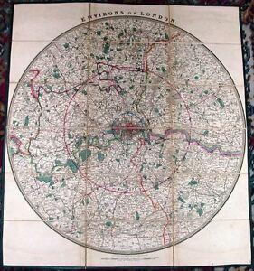 Antique-map-Environs-of-London