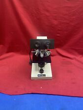 Meiji Techno Tm 460 Compound Binocular Microscope Objective 4x 10x 40x 100x