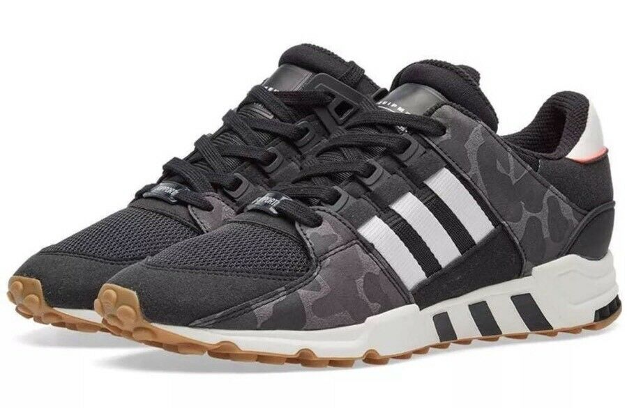 Adidas Originals EQT Support RF Men's Size BB1324 11.5 Shoes Black/Off White BB1324 Size NEW 2c85a3