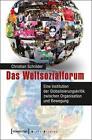 Das Weltsozialforum von Christian Schröder (2015, Taschenbuch)