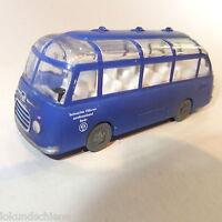 Kässbohrer Setra  S 6  Bus THW Berlin  Bayern Modell   1:87 ..#4945