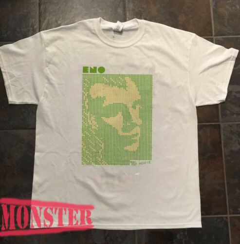 VTG Brian Eno 1971-1977 The Man Who Fell To Earth black t shirt reprint