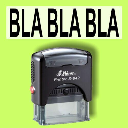 BLA BLA BLA Shiny Printer Schwarz S-842 Büro Stempel Kissen schwarz