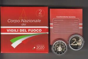 ITALIA-moneta-2-FS-80-ann-della-Fondazione-dei-Vigili-del-Fuoco-2020-OFFERTA