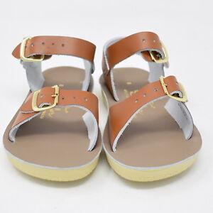 5be54730053e New Hoy Shoes Sun San Toddler Kids Salt Water Sandals Tan Surfer ...