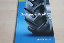 127830) Semperit Landwirtschaftsreifen Prospekt 01/2006