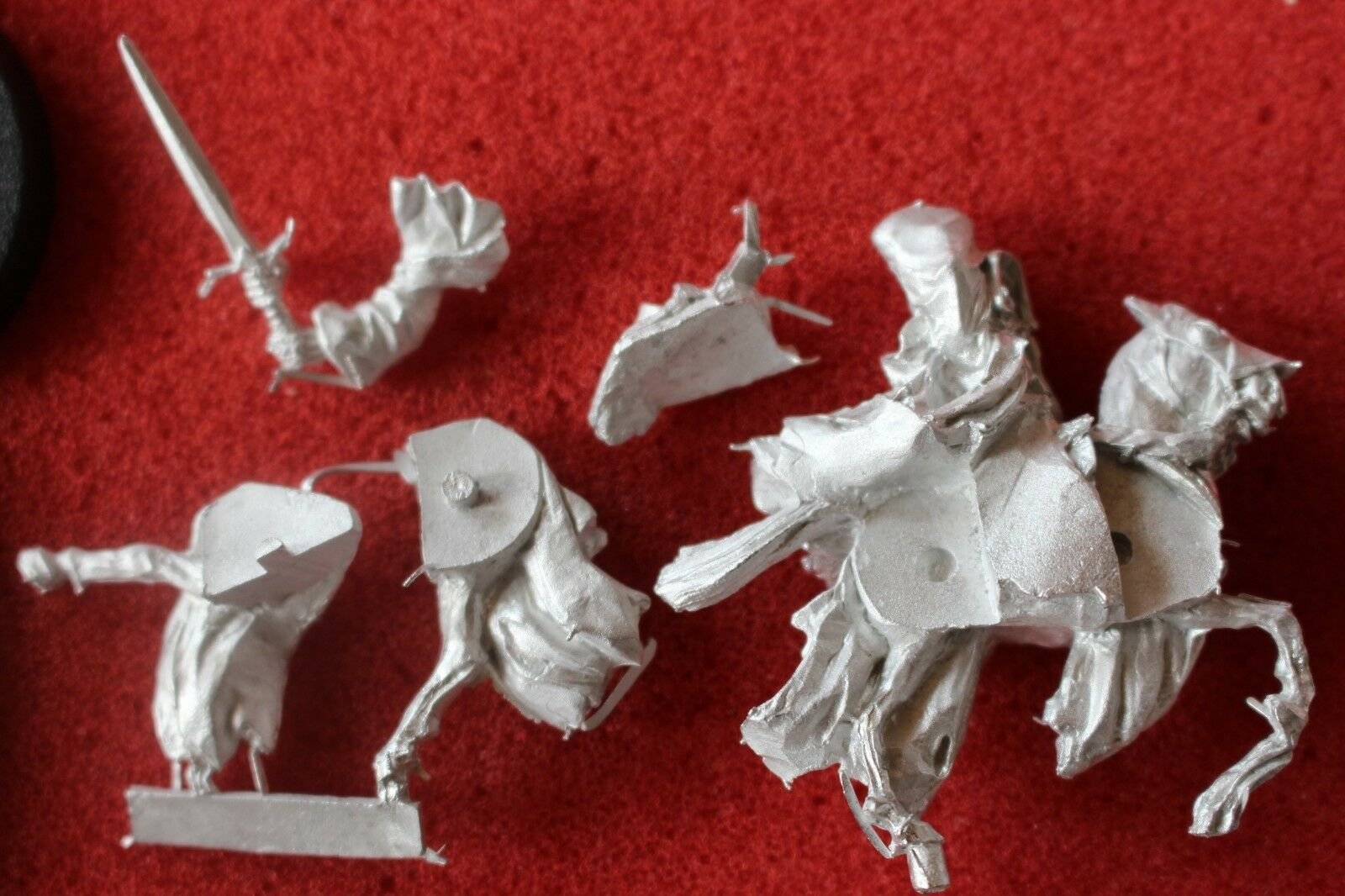 Games Games Games Workshop Lord of the Rings LoTR The Dwimmerlaik Mounted Metal Figure New e63d94