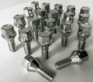 Voiture-Roue-Boulons-Ecrous-Cosses-M12-X-1-5-17mm-Hex-24mm-Fil-Conique-Siege-X