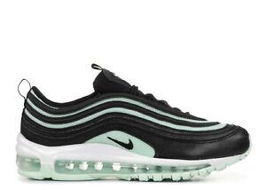 Women's Nike Air Max 97 BLACK IGLOO GREEN MINT WHITE 921733