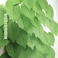 100PCS Post-it Note Paper Leaves Notebook Marker Sticker Memo Pad Sticky Notes