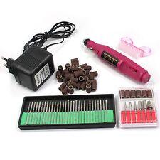 Nail Art Electric Drill Manicure Pen Bits 50Pcs Sanding File Band Brush Tool Set