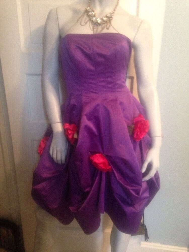 Vintage ORIGINAL Betsey Johnson NWT DRESS 4 RETIRED And RARE EPIC PROM DRESS