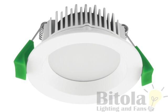 DOMUS DECO MINI 8W SAMSUNG LED DOWNLIGHT WHITE ROUND 70mm Cutout 5000K COOL