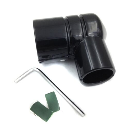 DRAG SPECIALTIES Black FUEL LINE FITTING COVER for Harley CVO Road FLHTCUTG
