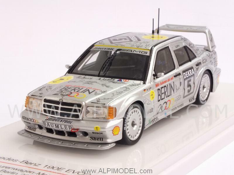compra limitada Mercedes 190E Evo2 AMG Berlin 2000 DTM DTM DTM 1992 E. Lohr 1 43 TRUESCALE TSM124350  el mejor servicio post-venta