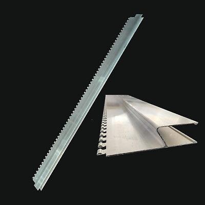 Fassade Schlussverkauf Alu H-profil Kartätsche Gezahnt 1,2m 120cm Abziehlatte Putzlatte Zahnleiste H KöStlich Im Geschmack