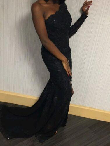 Women Black Ball Gown - image 1