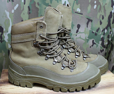 Used Belleville MCB Mountain Combat Hiker Gore-tex Boots MCB 950 13 Wide