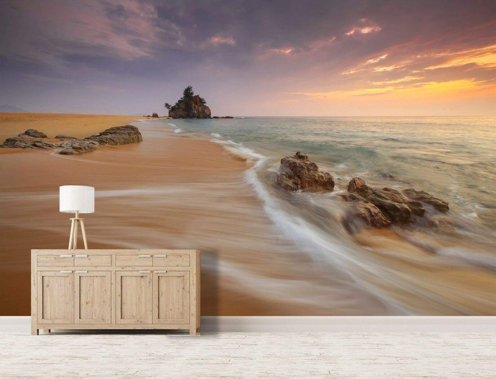 3D Beach Reef 7204 Wall Paper Print Wall Decal Deco Indoor Wall Murals US Summer