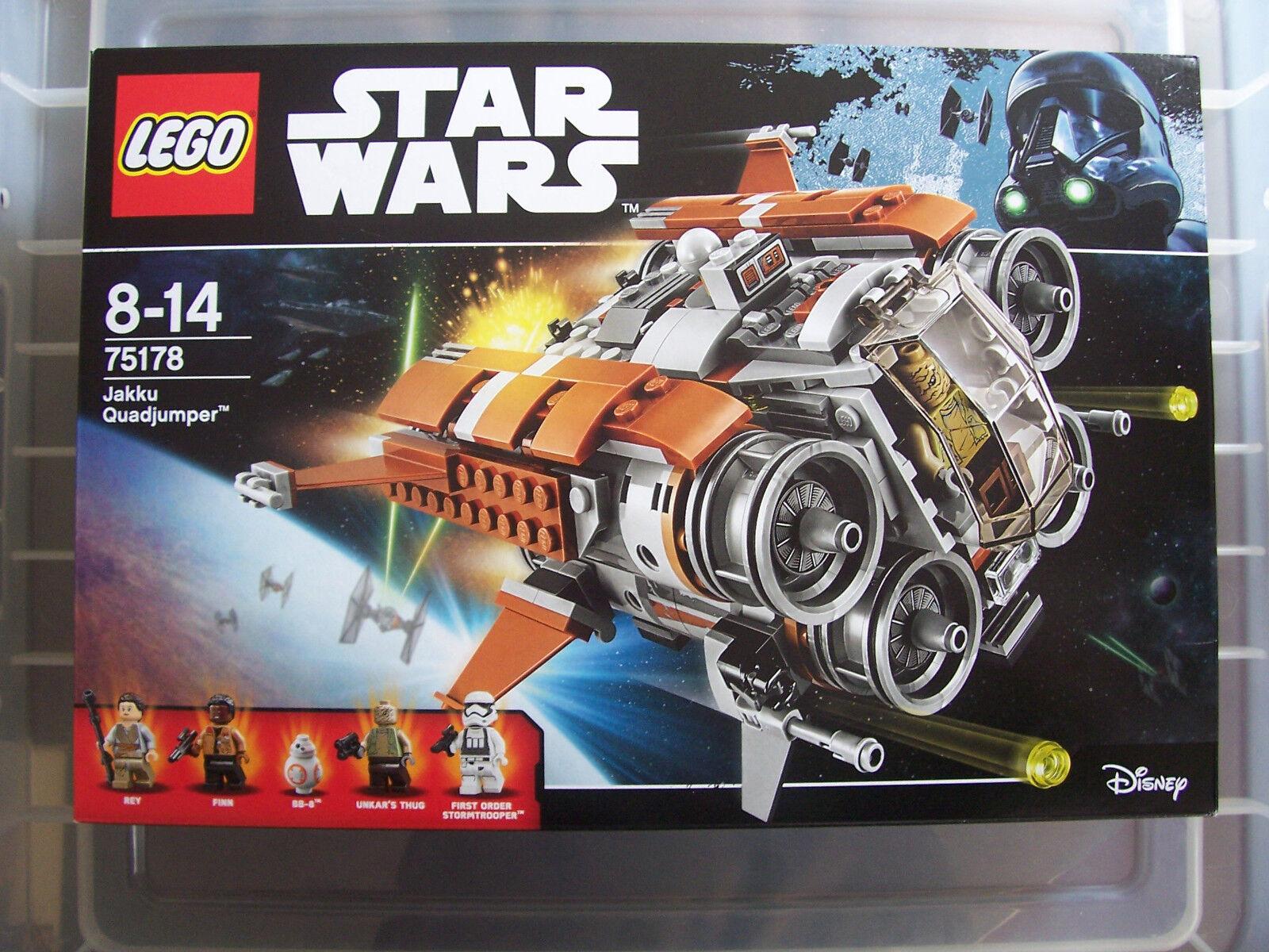 STAR Wars Rebels-LEGO-jakku quadjumper - 75178-NUOVO e SIGILLATO