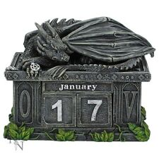 NEMESIS NOW *FORTUNE'S KEEPER* /DRAGON/GOTHIC CALENDAR/FIGURE  BRAND NEW & BOXED